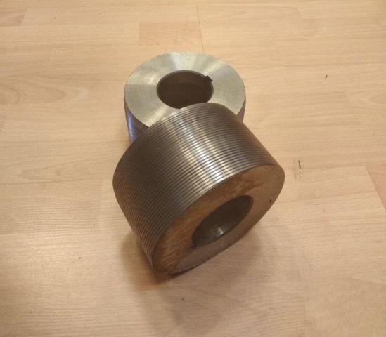 Ролик резьбонакатной левый М48х2,0 D141-d80-H63